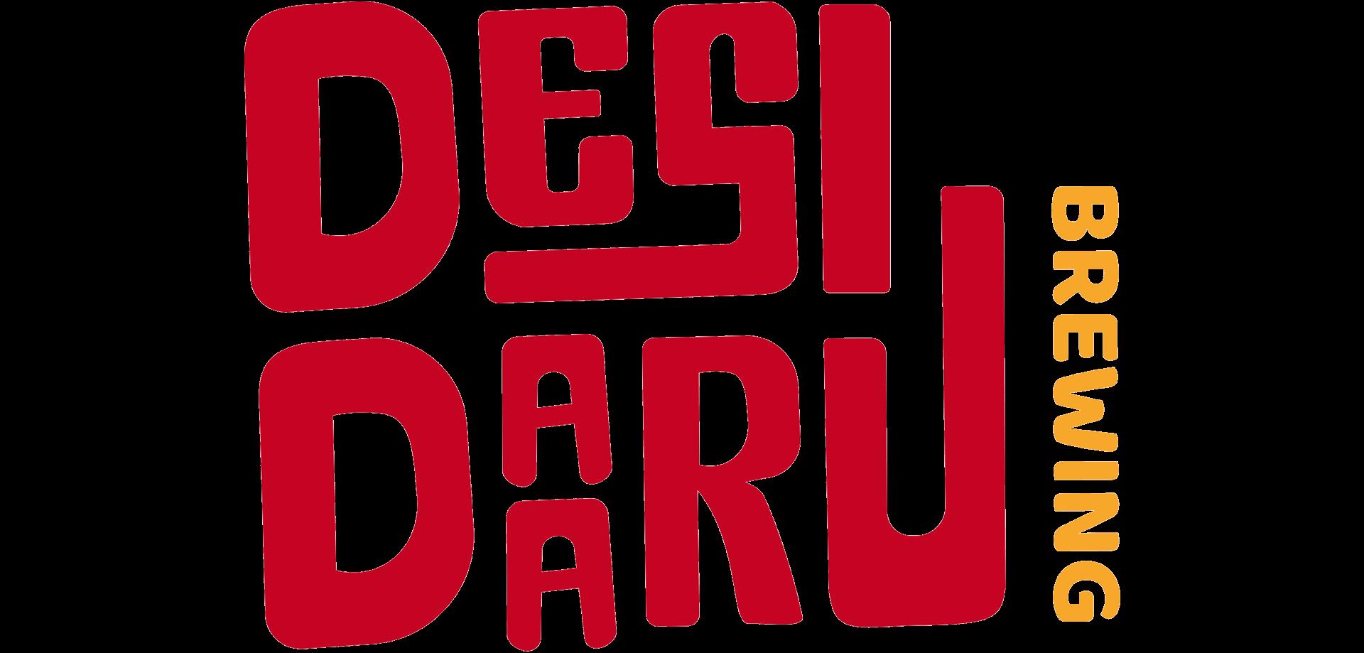 Desi Daaru brewing logo design in colour