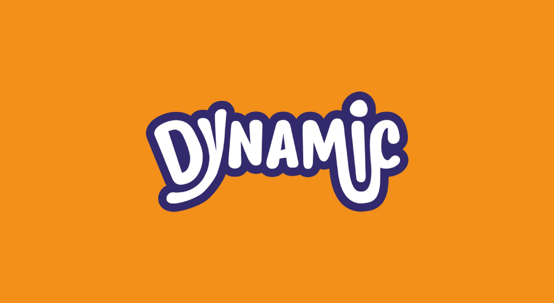 Dynamic charity logo design