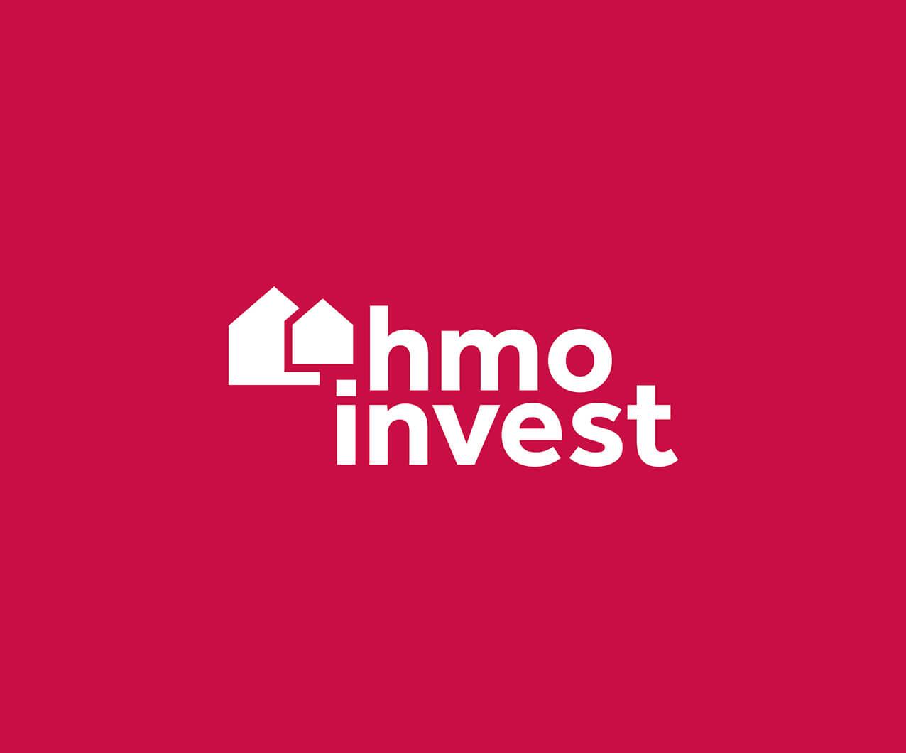 HMO Invest property developer logo design