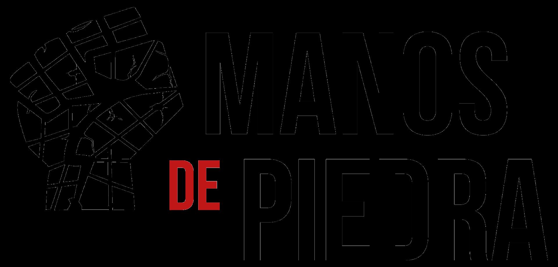 Manos De Piedra primary logo design