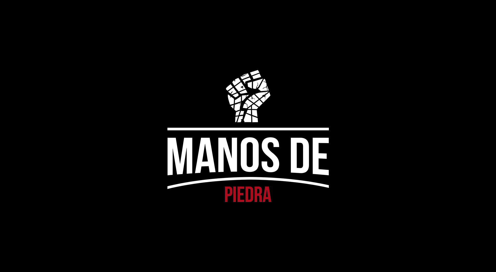 Manos De Piedra secondary logo design