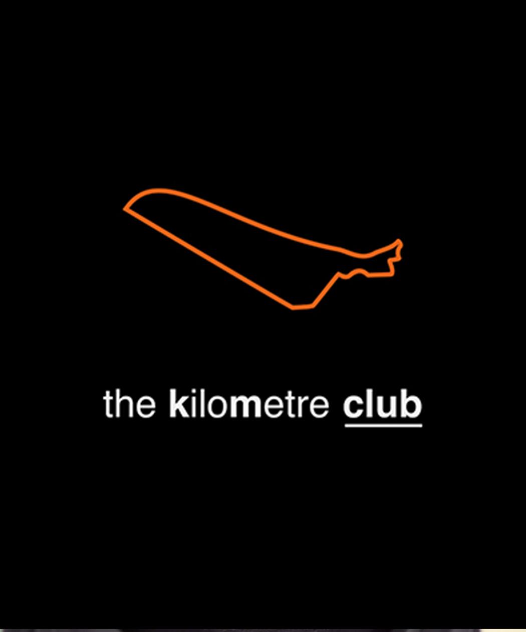 saw icon design for kilometre running club
